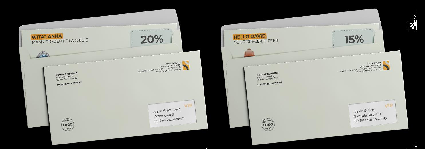 envelopes Direct Mail